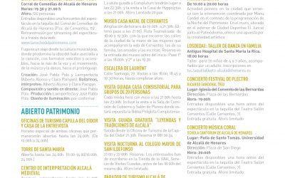 """Alcalá de Henares celebrará """"La Noche del Patrimonio"""" con más de una docena de propuestas culturales gratuitas"""