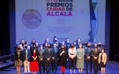 Iñaki Gabilondo y Charo López han recibido el Premio Ciudad de Alcalá de las Artes y las Letras 2020 y 2021
