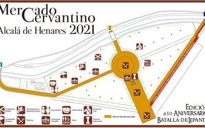Dispositivo de tráfico con motivo del Mercado Cervantino