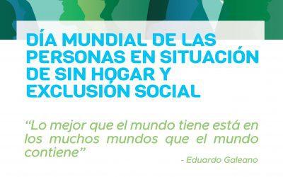 Alcalá de Henares se suma mañana a la conmemoración del Día de las Personas sin Hogar