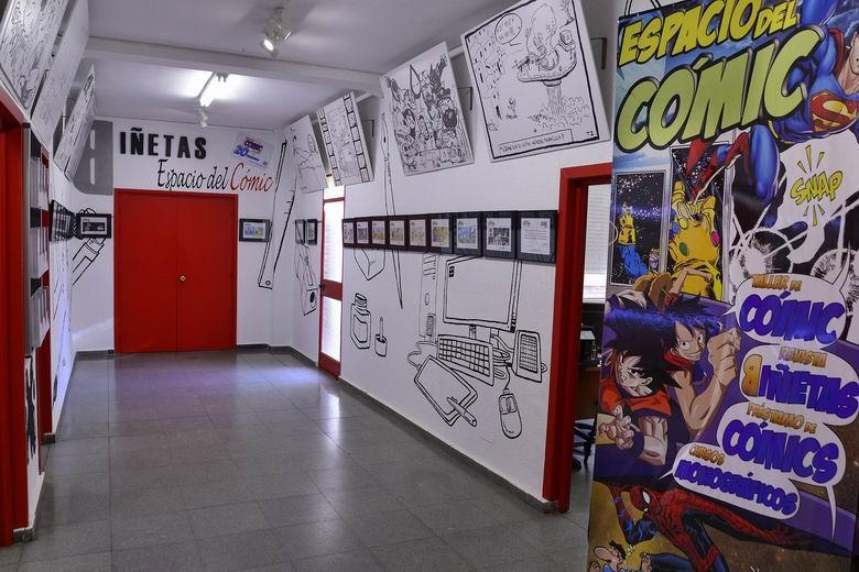 Inktober La JUVE 2021, una exposición en constante evolución: 31 artistas y  31 días de construcción - Ayuntamiento de Alcalá de Henares %