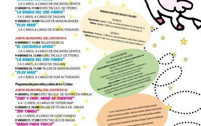 """Talleres, títeres, teatro en familia y magia, entre las propuestas gratuitas de """"Otra Forma de Jugar"""" para el mes de noviembre"""